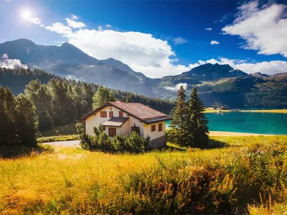 Immobilienkauf Schweiz, Ferienimmobilie, Foto: Leonid Tit/fotolia.com