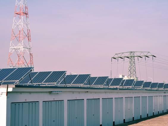 Garage kaufen, Photovoltaikanlage, Solardach, Foto: industrieblick / fotolia.com