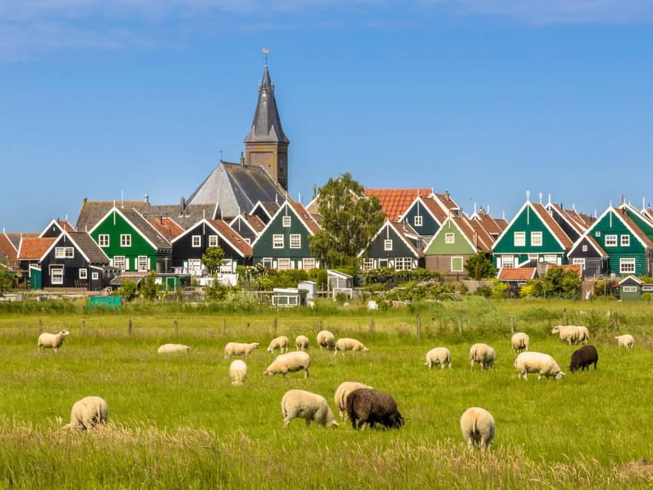 Auslandsimmobilie Niederlande, Immobilienkauf, Dorf, Foto: creativnature.nl/fotolia.com