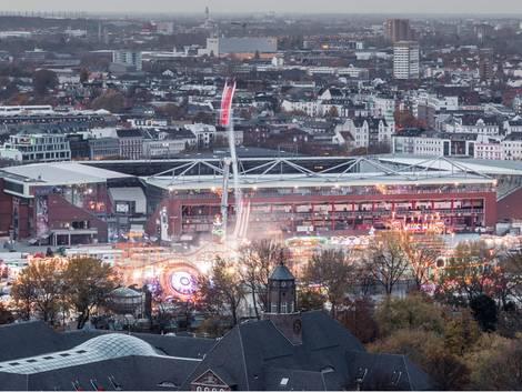 Hamburg, Hamburger Dom vor dem Millerntor-Stadion, Foto: deejaymd/stock.adobe.com
