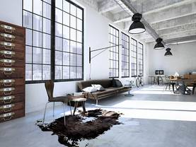 Luxuswohnung mieten, Loft, Foto: iStock/2Mmedia
