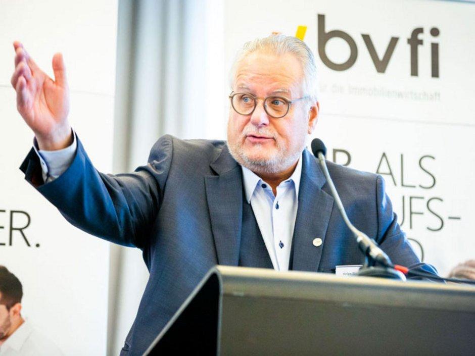 Der Präsident des Bundesverbands für die Immobilienwirtschaft Foto: bvfi