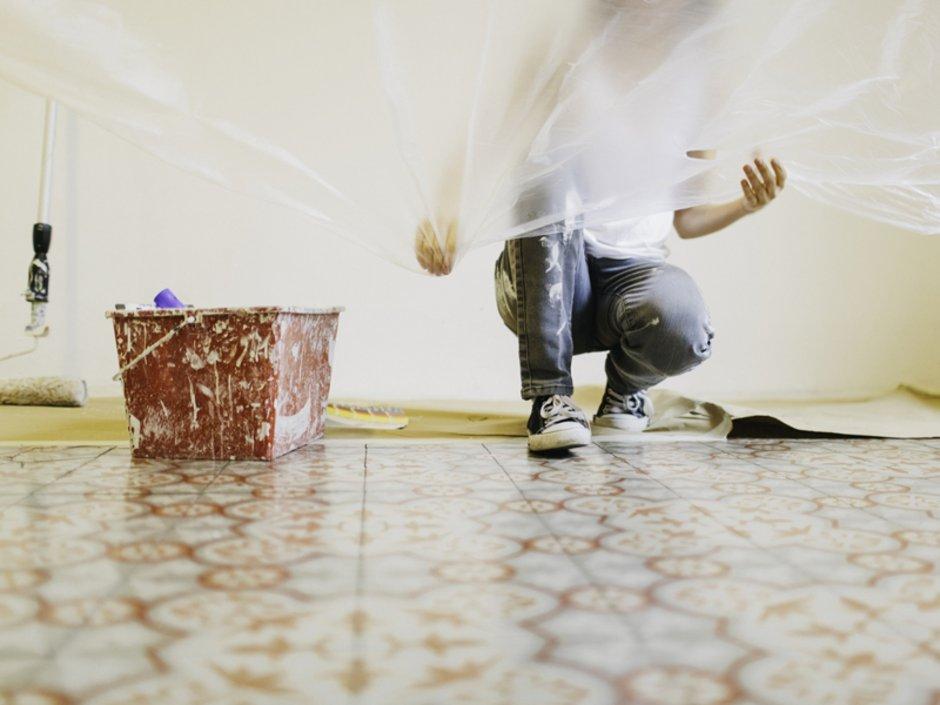 Wände, Decke, streichen, Vorbereitung, Foto: iStock.com/Tempura