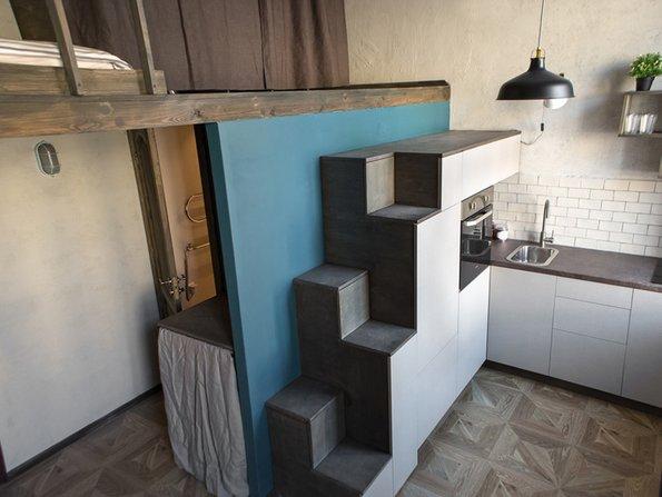 Kleine Küchen, Platz, Zubereitung, Foto: iStock.com/Addictive