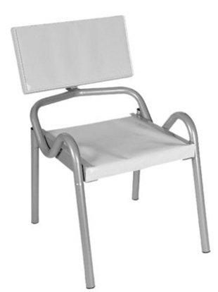 Sat-Stuhl,Satellitenschüssel, Sat-Schüssel ausrichten, Foto: A.S.SAT