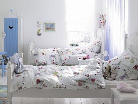Geschwisterzimmer, gemeinsames Kinderzimmer, Bett, Foto: car-Möbel