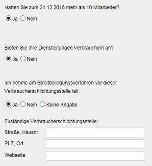 Verbraucherstreitbeilegungsgesetz, Screenshot: immowelt.de