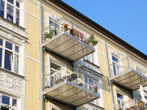 Eigentümer, Balkon, Foto: Kara/fotolia.com