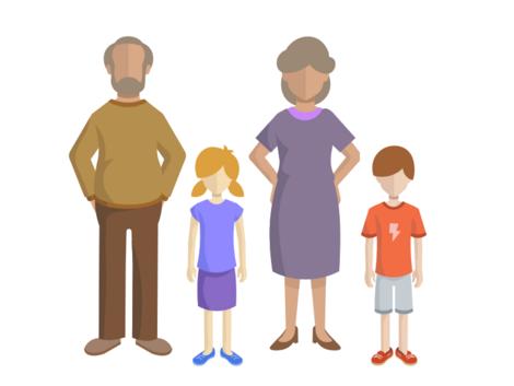Umzug mit Kindern, Großeltern, Grafik: immowelt.de