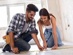 Wohnflächenberechnung, Wohnfläche ausmessen, Vorschriften, Foto: iStock.com/didesign