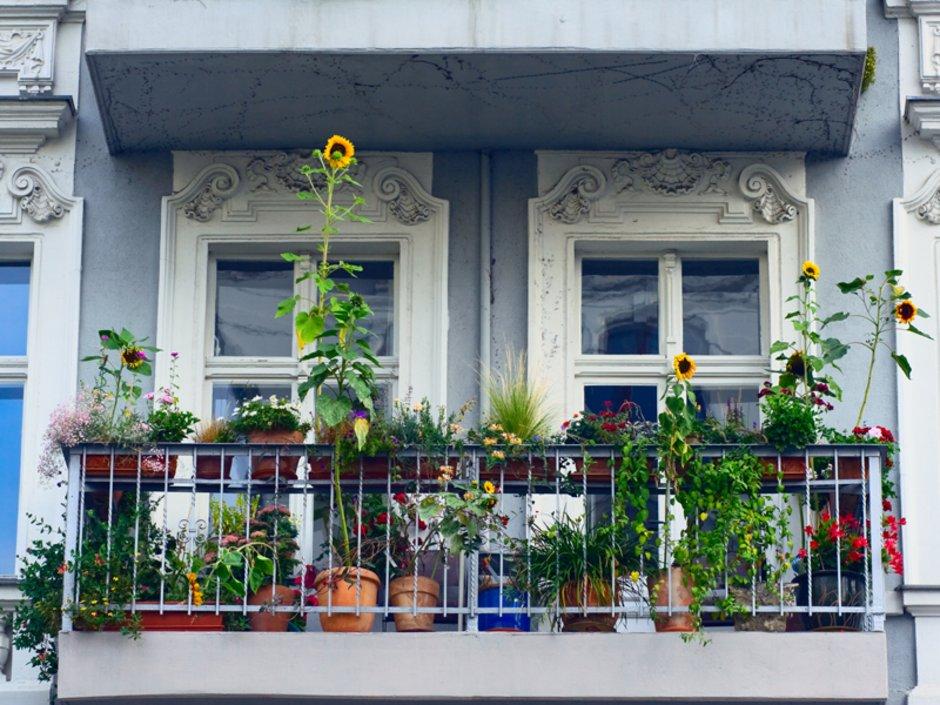 Wohnflächenberechnung, Balkon, Berechnungsmethode, Foto: iStock.com/justhavealook