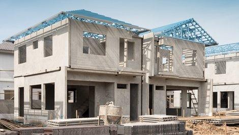 KfW Wohneigentum, ein Neubau, Foto: iStock / fotolism_thai