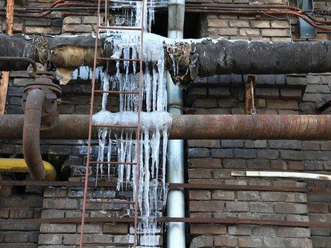 Wasserohr, Frost, eingefroren, Winter, Haus, Foto: harmpeti / fotolia.com