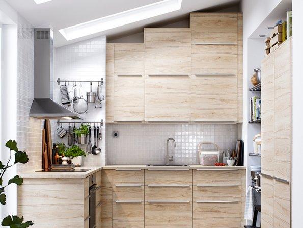 Kleine Küchen, Dachschräge, Oberschränke, Foto: Inter IKEA Systems B.V.