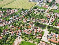 Grundsteuer, Luftbild eines Ortes, Foto: Foto: iStock.com / cinoby
