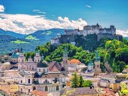 Auswandern nach Österreich, Blick auf Salzburg, Foto: mojolo / stock.adobe.com