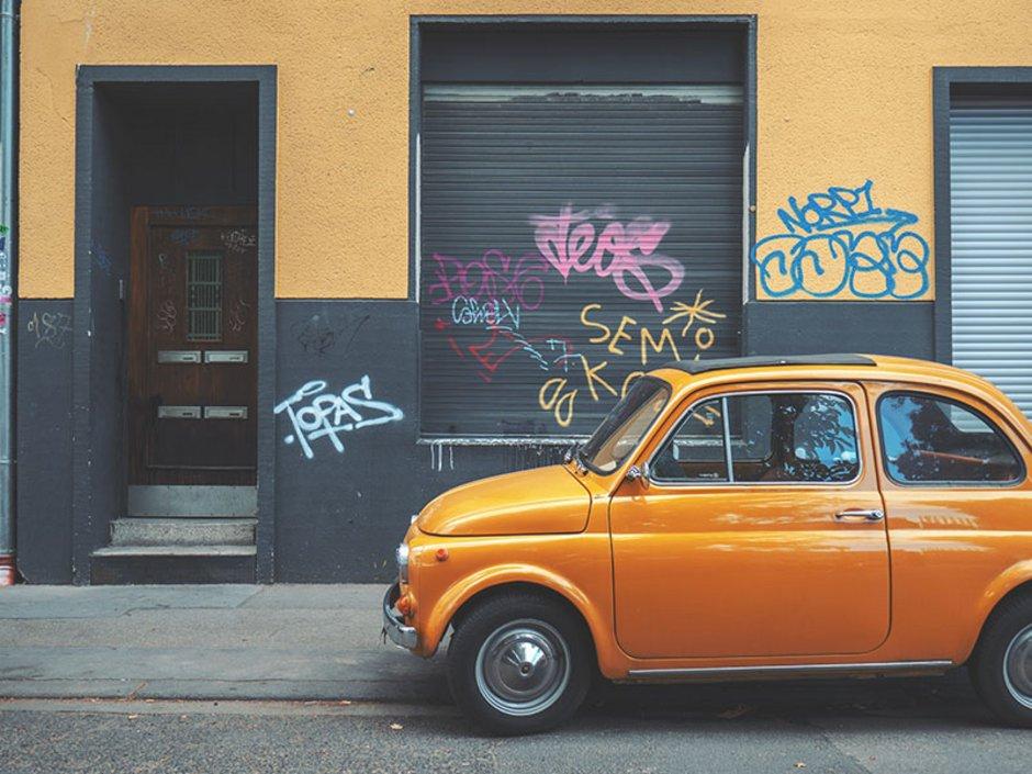 Gewerbemietvertrag, Gewerbemietrecht, Mietminderung, Graffiti, Foto: Daniel von Appen/Unsplash.com