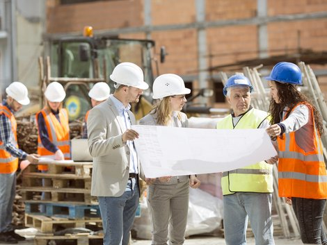 Bauherrengemeinschaft, Bauprojekt, Verantwortung, Foto: iStock/Snesky