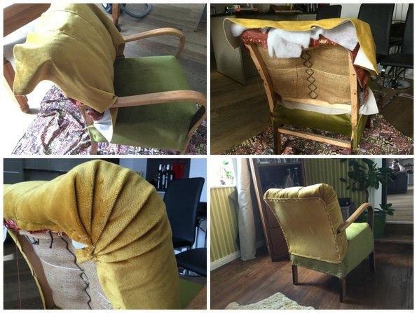 Sessel aufpeppen, Alte Möbel, Foto: Inna Scherer / immowelt.de