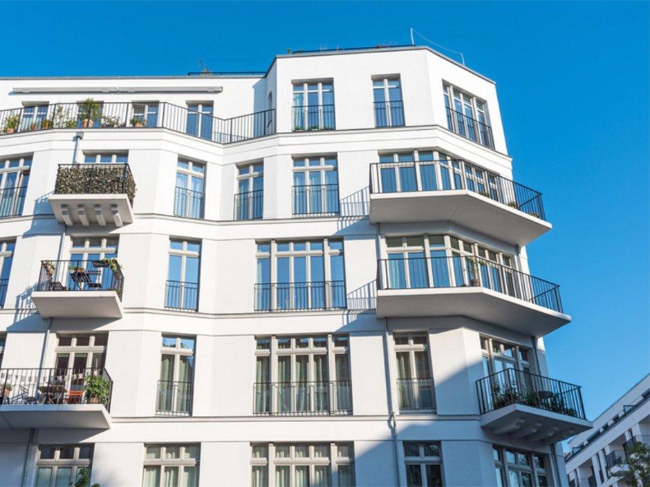Abgeschlossenheitsbescheinigung, Mehrfamilienhaus, Eigentumswohnungen, Foto: elxeneize/fotolia.com