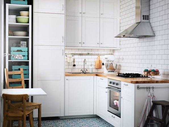 Kleine Küchen, Planung, Essecke, Foto: Inter IKEA Systems B.V.