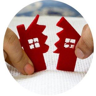 Zugewinnausgleich, Scheidung mit Immobilie, Realteilung, Foto: aytuncoylum/fotolia.com