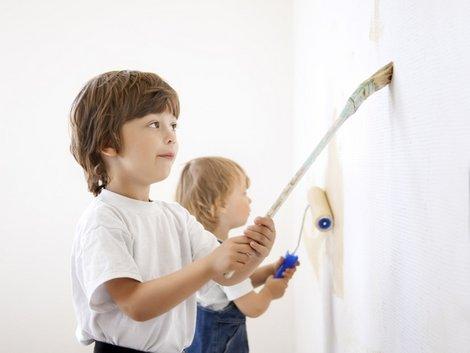 Umzug mit Kindern, Kinderzimmer streichen, Foto: Chepko Danil/fotolia.com