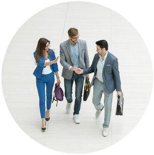 Makler, Werbung, Kundenakquise, persönliches Gespräch, Foto: FotoIEdhar/fotolia.com