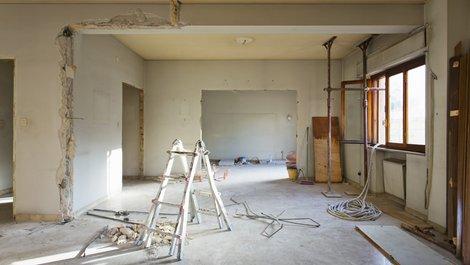 Mietkauf, Zimmer wird renoviert, Foto: lapas77 / stock.adobe.com