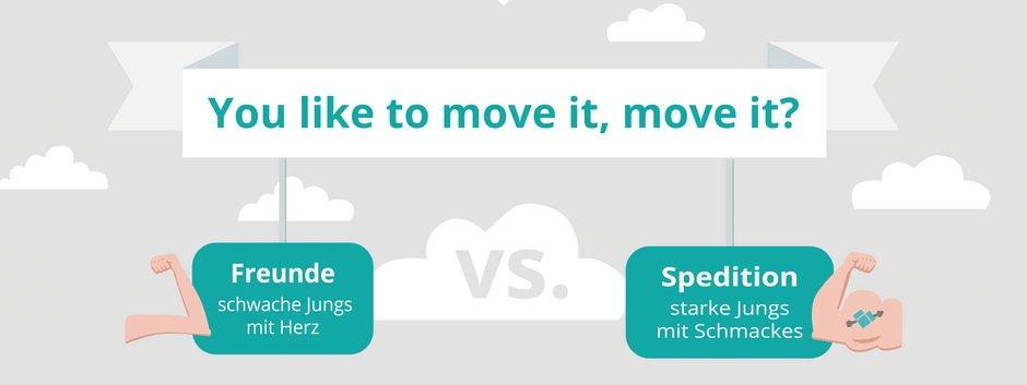 selber umziehen oder mit Umzugsfirma, Studie, Grafik: umzugsauktion.de/ Immowelt