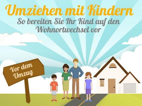Umzug mit Kindern, Grafik: immowelt.de