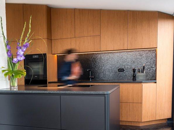 Kleine Küchen, Dachschrägen, Lösungen, Foto: Der Raum