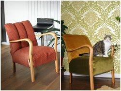 Alte Möbel, alter Stuhl, Stuhl beziehen, Foto: Inna Scherer/immowelt.de