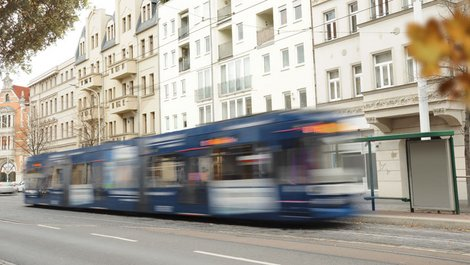 Eine Straßenbahn. Foto: K.-U. Haeßler / adobe.stock.com