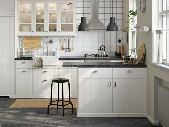 Kleine Küchen, Arbeitsfläche, Sitzplatz, Tisch, Foto: Inter IKEA Systems B.V.