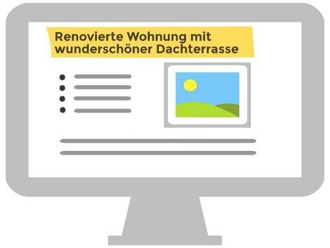 Immobilienanzeigen, SEO, Grafik: immowelt.de