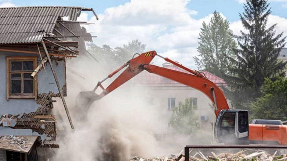 Befristeter Mietvertrag, ein Haus wird abgerissen, Foto: Mr Twister / stock.adobe.com