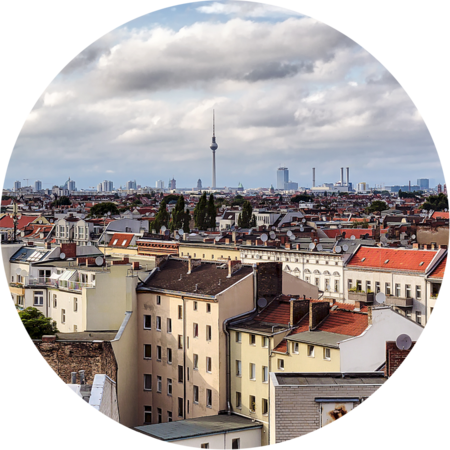 Mietendeckel, Ausblick über Berlin und den Fernmeldeturm, Foto: Armin Staudt / stock.adobe.com
