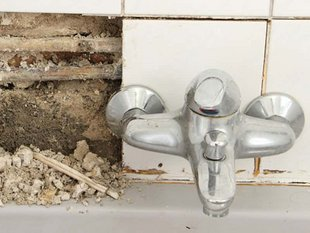 Wohngebäudeversicherung, Wasser, Leitungswasserschaden, Foto: maho/StockAdobe.com