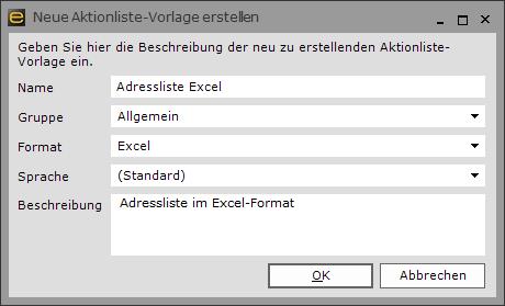 Excel-Listen schnell und einfach mit Vorlagen exportieren